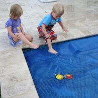 Pool covers present can present a challenge...